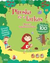 PIROSKA ÉS A FARKAS - MATRICÁS FOGLALKOZTATÓKÖNYV + CERUZA RADÍRRAL - Ekönyv - MÓRA KÖNYVKIADÓ