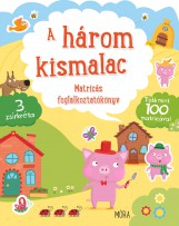 A HÁROM KISMALAC - MATRICÁS FOGLALKOZTATÓKÖNYV  + 3 ZSÍRKRÉTA - Ekönyv - MÓRA KÖNYVKIADÓ