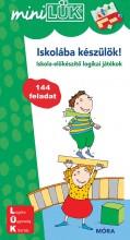 ISKOLÁBA KÉSZÜLÖK! - ISKOLA-ELŐKÉSZÍTŐ LOGIKAI JÁTÉKOK - MINILÜK - Ekönyv - MÓRA KÖNYVKIADÓ
