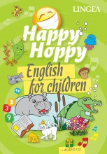 HAPPY HOPPY KÖNYV - ENGLISH FOR CHILDREN + AUDIO CD - Ekönyv - LINGEA KFT.