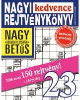 NAGYI KEDVENCE REJTVÉNYKÖNYV 23. - Ekönyv - CSOSCH KFT.