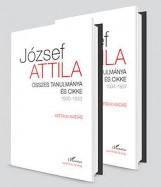 JÓZSEF ATTILA ÖSSZES TANULMÁNYA ÉS CIKKE 1930-1937 I-II. KÖTET - Ekönyv - KRITIKAI KIADÁS