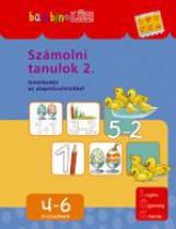 SZÁMOLNI TANULOK 2. - ISMERKEDÉS AZ ALAPMŰVELETEKKEL 4-6 ÉVESEKNEK - Ekönyv - LDI-102
