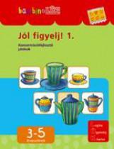 JÓL FIGYELJ! 1. - KONCENTRÁCIÓFEJLESZTŐ JÁTÉKOK - BANBINÓ-LÜK - Ekönyv - LDI-104
