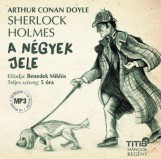 A NÉGYEK JELE - HANGOSKÖNYV - Ekönyv - DOYLE, ARTHUR CONAN SIR