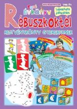 TAPSI ÉVKÖNYV - RÉBUSZKOKTÉL (REJTVÉNYKÖNYV GYEREKEKNEK) - Ekönyv - LAPU BT.