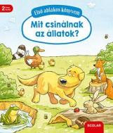MIT CSINÁLNAK AZ ÁLLATOK? - ELSŐ ABLAKOS KÖNYVEM - Ekönyv - SCOLAR KIADÓ ÉS SZOLGÁLTATÓ KFT.