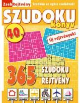 ZSEBREJTVÉNY SZUDOKU KÖNYV 40. - Ekönyv - CSOSCH KFT.