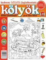 KEDVENC KÖLYÖK FOGLALKOZTATÓ 35. - Ebook - CSOSCH KFT.