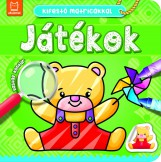 JÁTÉKOK - KIFESTŐ MATRICÁKKAL - Ekönyv - ANNA PODGÓRSKA