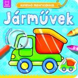 JÁRMŰVEK - KIFESTŐ MATRICÁKKAL - Ekönyv - ANNA PODGÓRSKA