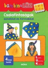 CSALAFINTASÁGOK SZÍNEKKEL ÉS FORMÁKKAL - BAMBINOLÜK - Ekönyv - LDI116