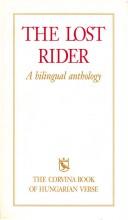 THE LOST RIDER - (A MAGYAR KÖLTÉSZET KÖNYVE, 6.KIADÁS) - Ekönyv - CORVINA KIADÓ