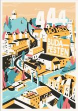 444 JÓ HELY BUDAPESTEN - Ekönyv - LIBRI KÖNYVKIADÓ KFT