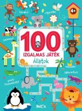 100 IZGALMAS JÁTÉK - ÁLLATOK - Ekönyv - NINCS SZERZŐ