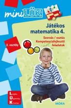 JÁTÉKOS MATEMATIKA 4. - Ekönyv - LDI221