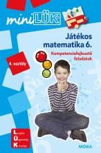 JÁTÉKOS MATEMATIKA 6. - Ekönyv - LDI223