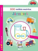 100 MÓKÁS MATRICA - JÁRMŰVEK - Ekönyv - NINCS SZERZŐ