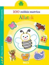 100 MÓKÁS MATRICA - ÁLLATOK - Ekönyv - NINCS SZERZŐ