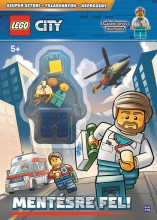 LEGO CITY - MENTÉSRE FEL! - Ekönyv - MÓRA KÖNYVKIADÓ