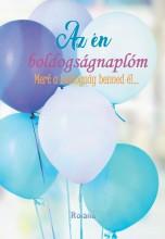 AZ ÉN BOLDOGSÁGNAPLÓM (LUFIS BORÍTÓ) - Ekönyv - ROLAND TOYS KFT.
