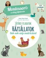 JÁTÉKOS FELADATOK - HÁZIÁLLATOK - Ekönyv - MONTESSORI, MARIA