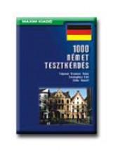 1000 NÉMET TESZTKÉRDÉS - Ekönyv - TALPAINÉ KREMSER ANNA-SÖVÉNYHÁZI EDIT-ST