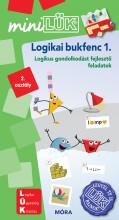 LOGIKAI BUKFENC 1. - LOGIKUS GONDOLKODÁST FEJLESZTŐ FELADATOK - MINILÜK - Ekönyv - LDI538