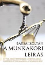 A MUNKAKÖRI LEÍRÁS - Ekönyv - Baksai Zoltán