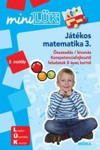 JÁTÉKOS MATEMATIKA 3 - LDI-220 - Ekönyv - MÓRA KÖNYVKIADÓ