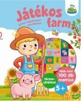 JÁTÉKOS FARM - JÁTÉKOS FOGLALKOZTATÓ GYEREKEKNEK - Ebook - SZALAY KÖNYVKIADÓ ÉS KERESKEDOHÁZ KFT.