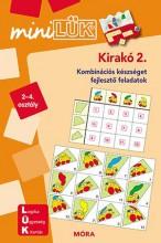 KIRAKÓ 2. - KOMBINÁCIÓS KÉSZSÉGET FEJLESZTŐ FÜZET 2-4. (MINILÜK) - Ekönyv - LDI-604