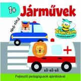 JÁRMŰVEK - HANGUTÁNZÓ KÖNYVECSKE - Ekönyv - SZALAY KÖNYVKIADÓ ÉS KERESKEDOHÁZ KFT.