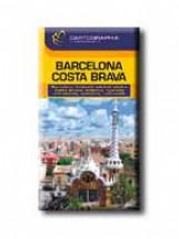 BARCELONA, COSTA BRAVA  - CART. ÚTIKÖNYV -