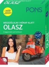PONS MEGSZÓLALNI 1 HÓNAP ALATT – OLASZ (KÖNYV + CD) - ÚJ - Ekönyv - KLETT KIADÓ