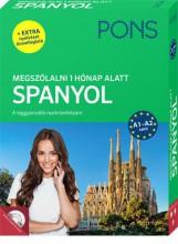 PONS MEGSZÓLALNI 1 HÓNAP ALATT – SPANYOL (KÖNYV + CD) - ÚJ - Ekönyv - KLETT KIADÓ