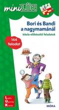 BORI ÉS BANDI A NAGYMAMÁNÁL - ISKOLA-ELŐKÉSZÍTŐ FELADATOK  - MINILÜK - LDI-233 - Ekönyv - MÓRA KÖNYVKIADÓ