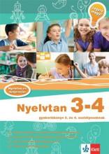NYELVTAN 3 - 4 - GYAKORLÓKÖNYV - JEGYRE MEGY! - Ekönyv - HASMAN KÁROLYNÉ - KATONA GYÖNGYI