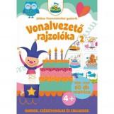 VONALVEZETŐ RAJZOLÓKA 2. - JÁTÉKOS FINOMMOTORIKAI GYAKORLÓ - Ekönyv - SZALAY KÖNYVKIADÓ ÉS KERESKEDOHÁZ KFT.