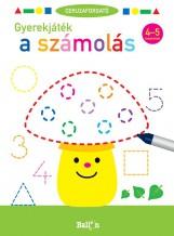 CERUZAFORGATÓ - GYEREKJÁTÉK A SZÁMOLÁS 4-5 - Ekönyv - BALLON
