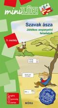 SZAVAK ÁSZA - JÁTÉKOS ANYANYELVI FELADATOK 3. OSZTÁLY - Ekönyv - LDI-552