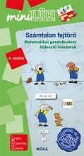 SZÁMTALAN FEJTÖRŐ 4. OSZTÁLY - MATEMATIKAI GONDOLKODÁST FEJLESZTŐ FELADATOK - Ekönyv - LDI-550