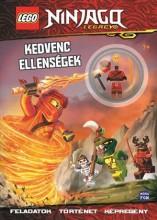 LEGO NINJAGO - KEDVENC ELLENSÉGEK - MINIFIGURÁVAL - Ekönyv - MÓRA KÖNYVKIADÓ