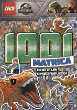 LEGO JURASSIC WORLD - HIHETETLEN DINOSZAURUSZOK 1001 MATRICA - Ekönyv - MÓRA KÖNYVKIADÓ