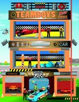 TEAMBOYS - HOUSES - Motor - Ekönyv - NAPRAFORGÓ KÖNYVKIADÓ