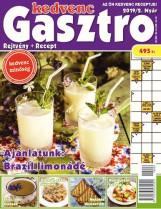 KEDVENC GASZTRO - REJTVÉNY + RECEPT 2019/2 - Ekönyv - CSOSCH KFT.