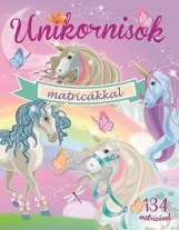 UNIKORNISOK MATRICÁKKAL - LILA - Ekönyv - NAPRAFORGÓ KÖNYVKIADÓ