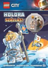 LEGO CITY - HOLDRA SZÁLLÁS! + AJÁNDÉK ŰRHAJÓS MINIFIGURÁVAL - Ekönyv - MÓRA KÖNYVKIADÓ