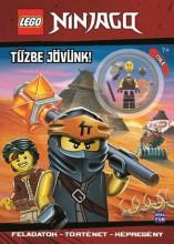 LEGO NINJAGO - TŰZBE JÖVÜNK! + AJÁNDÉK COLE MINIFIGURÁVAL - Ekönyv - MÓRA KÖNYVKIADÓ