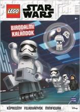 LEGO STAR WARS - BIRODALMI KALANDOK + AJÁNDÉK MINIFIGURÁVAL - Ekönyv - MÓRA KÖNYVKIADÓ
